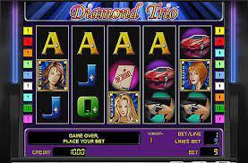 Slot igra Diamond Trio
